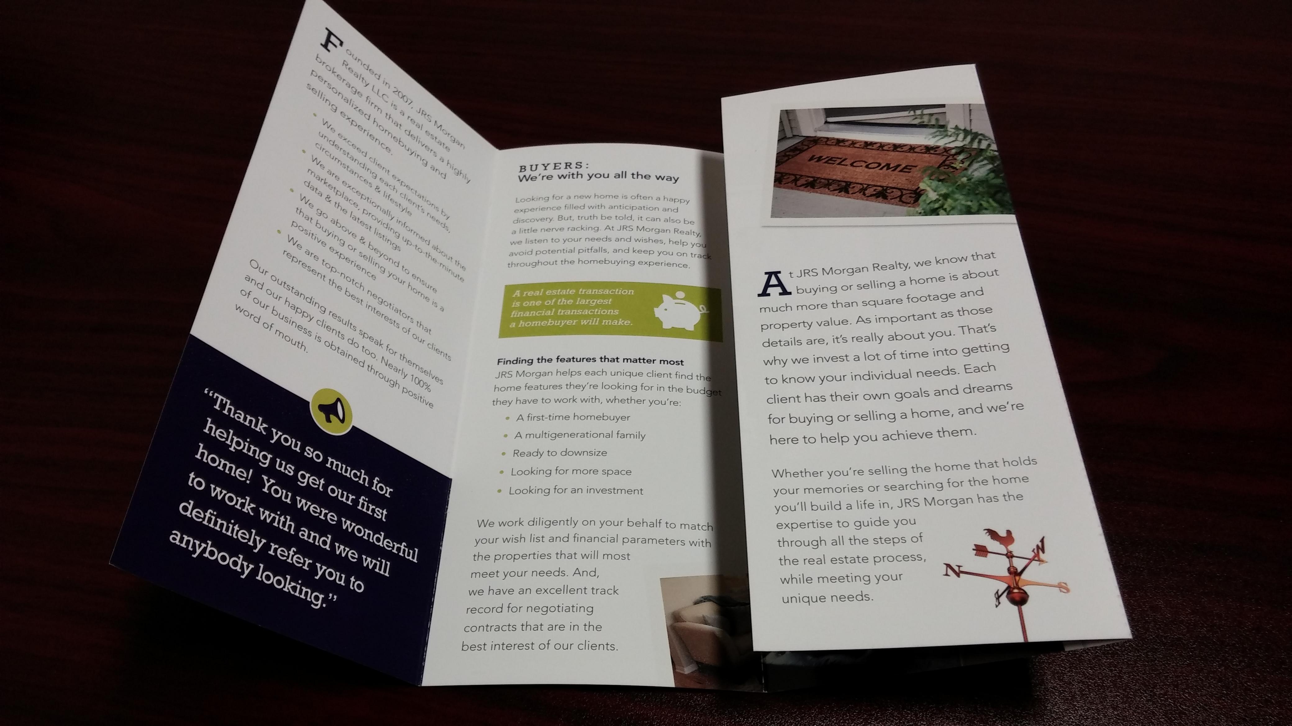 9 Brochure Folding Styles Team Avalon